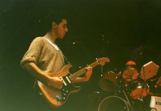 Nick Baron playing my first guitar