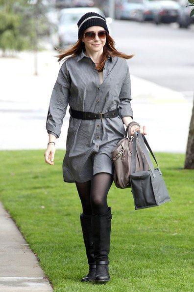 Actresses Vanessa Hudgens Alyson Hannigan were both spotted in Heartloom