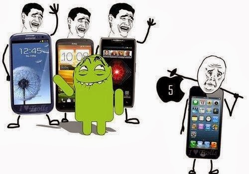 android Vs iphone