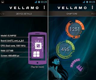 Vellamo, HTML 1251 & Metal 495