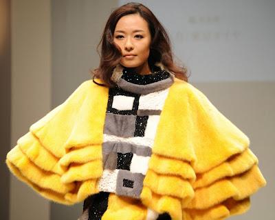 Tokyo, Japan, Fashion, Showbiz, Designer, Model, Japan Fur Association, Award, Saki Kawaguchi, Fur, Creation, Clothe,