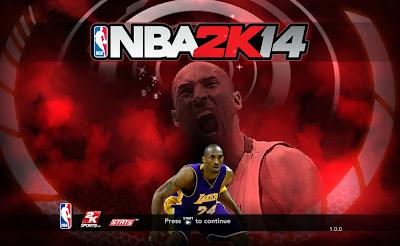 NBA 2K14 Kobe Bryant Start Startup Screen Mod