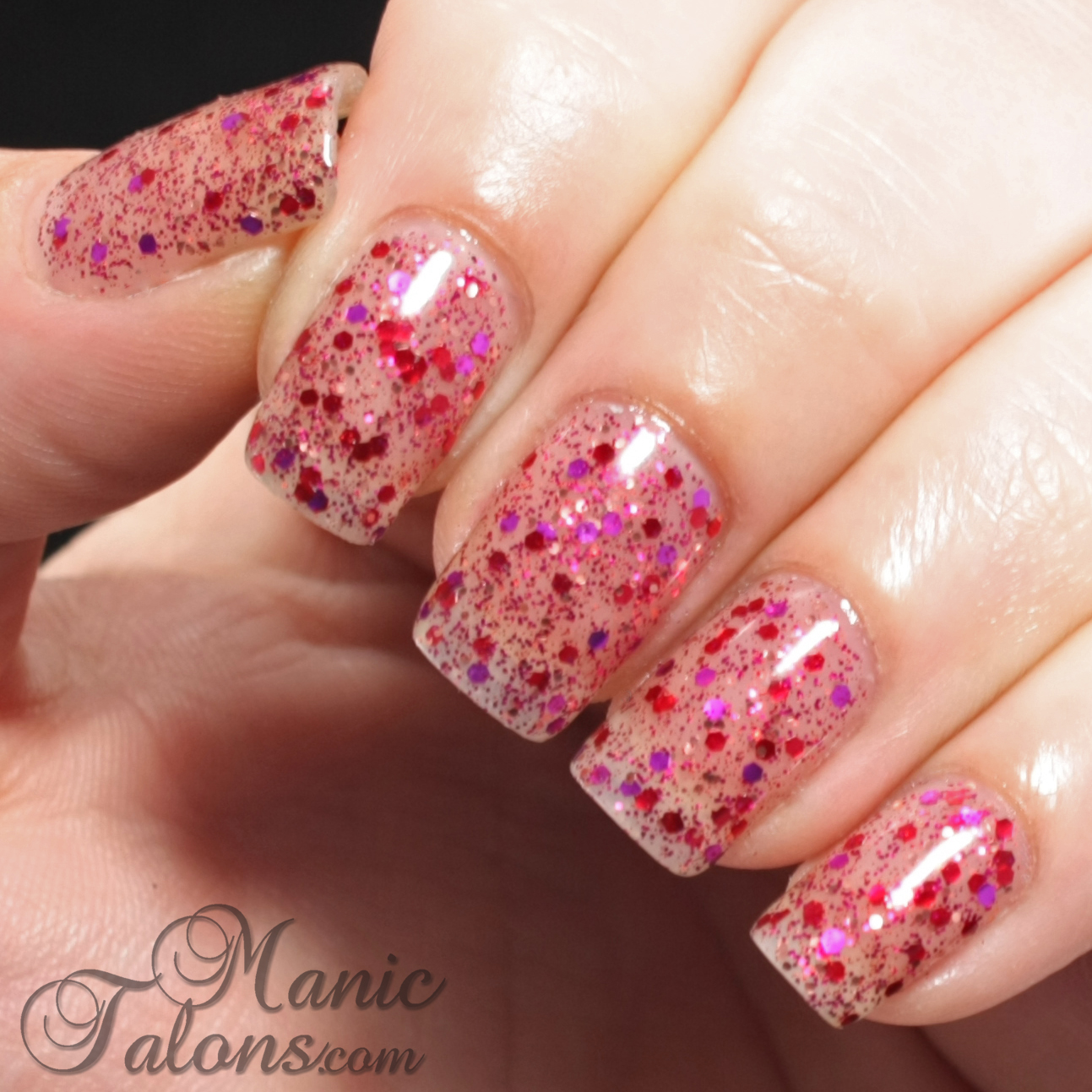 IBD Just Gel Polish Haute Frost Collection Imperial Treasure Swatch