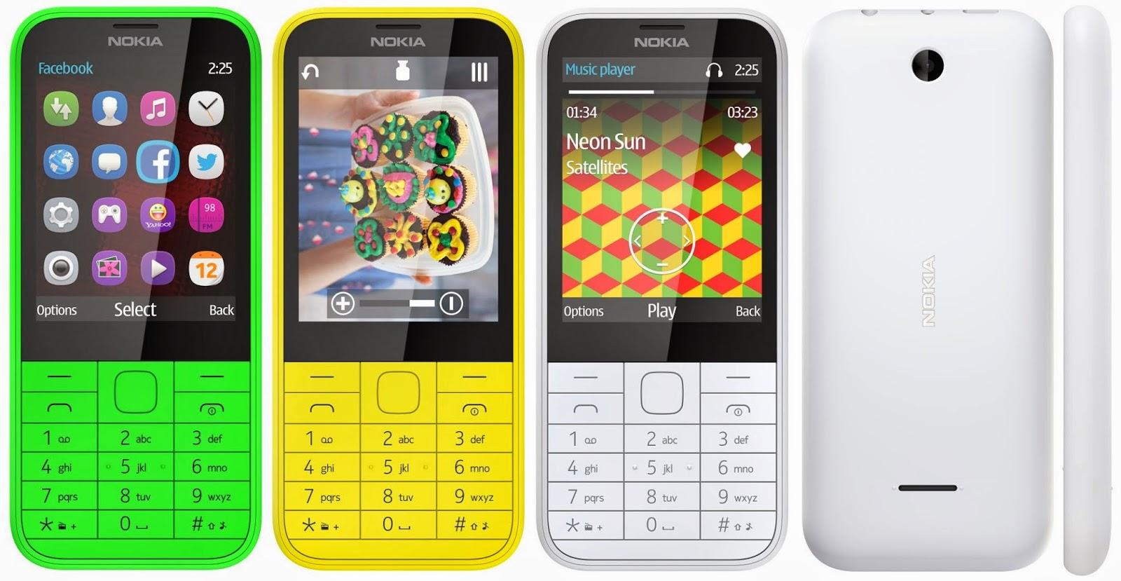 Nokia 225 Single SIM - Nokia 225 Dual SIM
