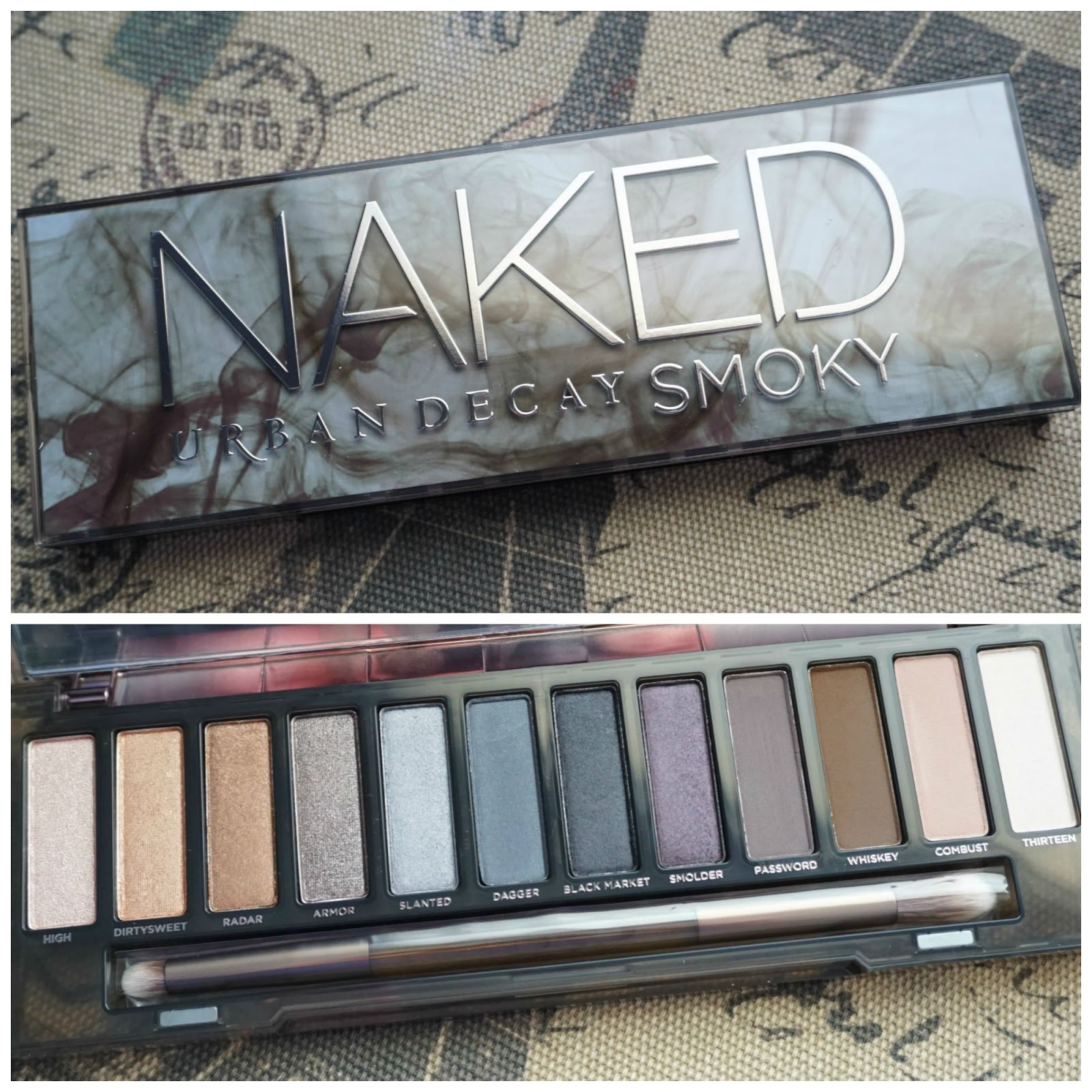 Makeup Fashion Royalty Review Urban Decay Naked Smoky Palette Eyeshadow
