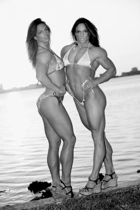 Sherry And Sheila Bleck Female Muscle Bodybuilding Blog