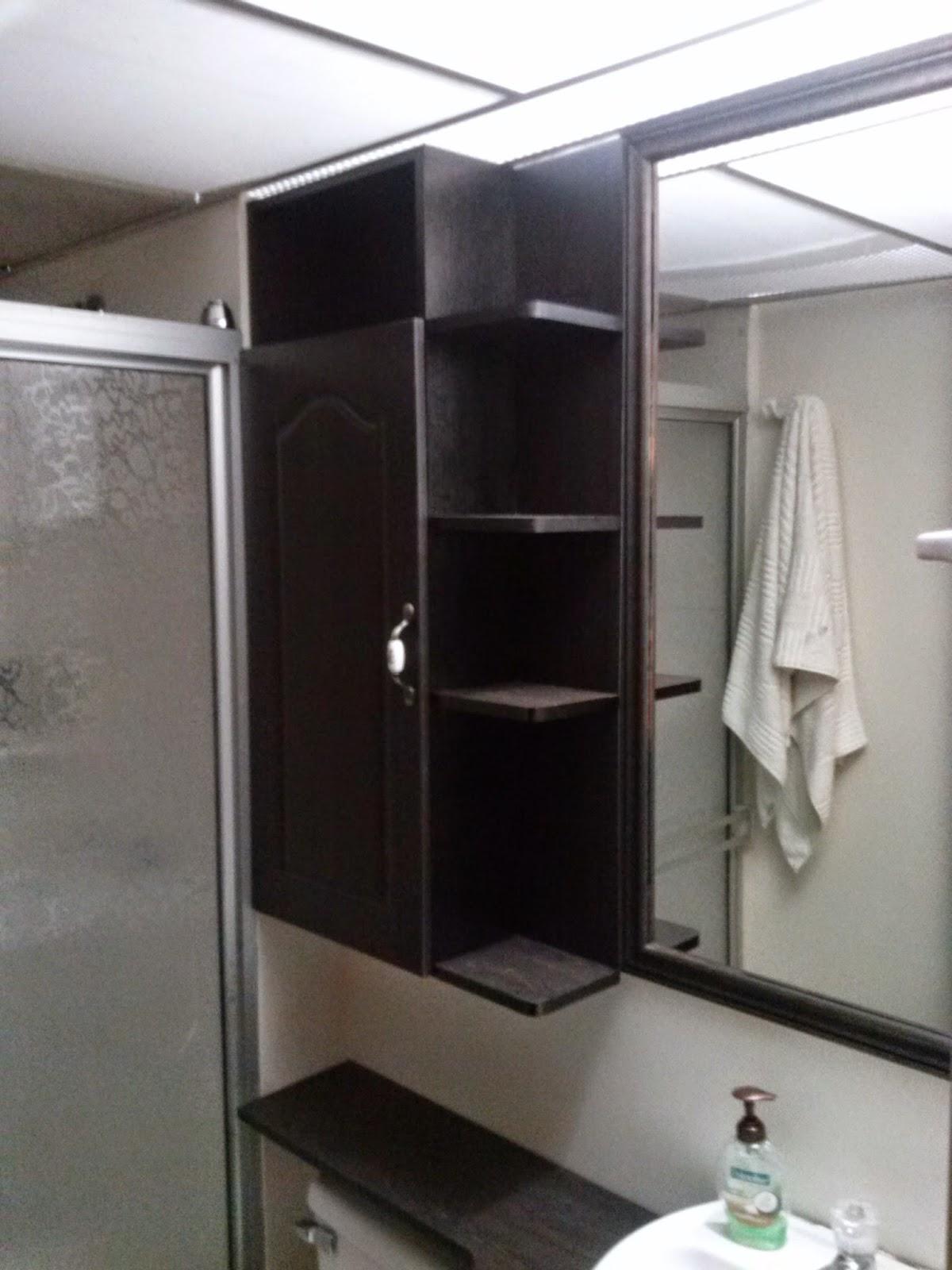 Muebles Tierra Mueble de baño 3 Repisa y gabinete sobre medida