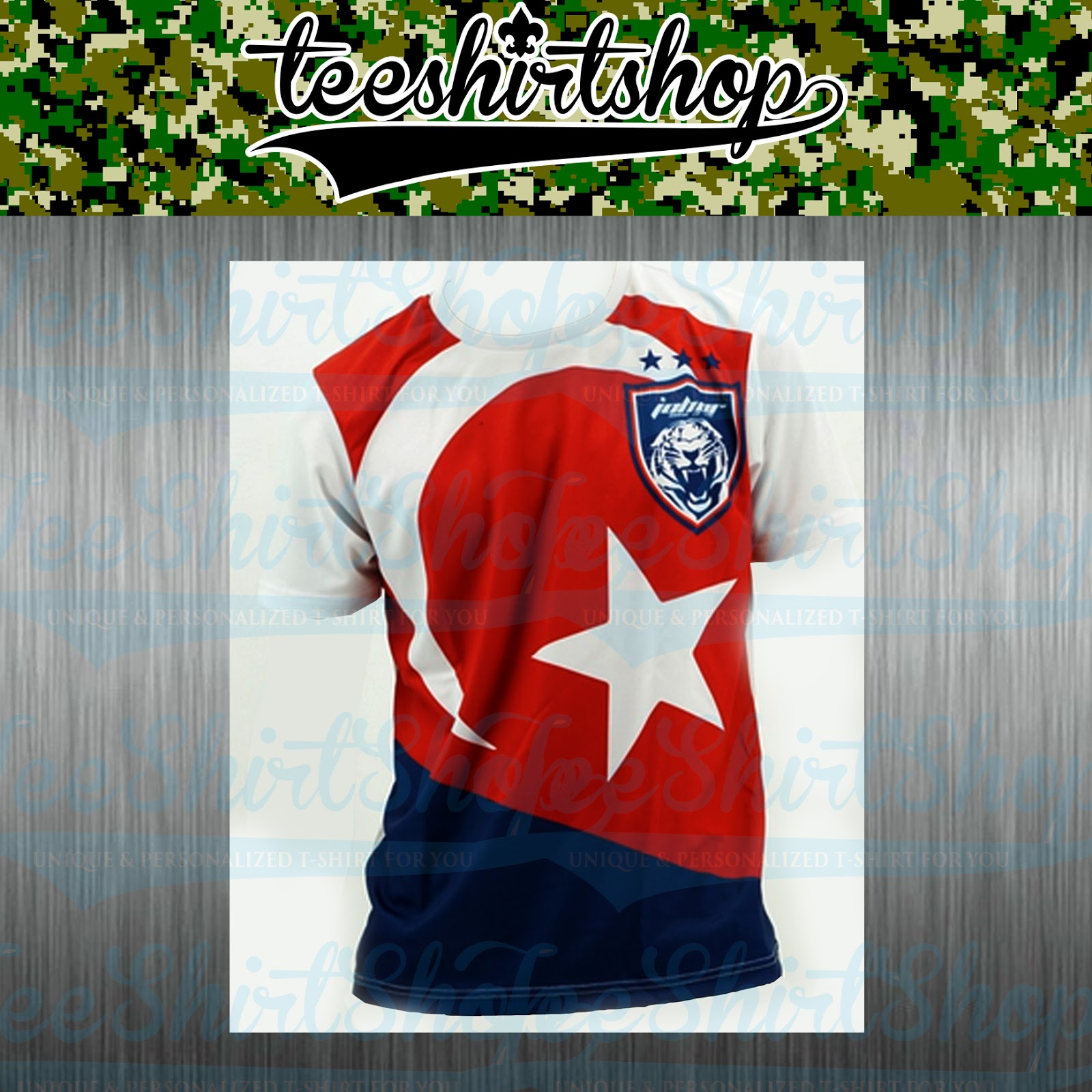 Design t shirt johor - Design T Shirt Johor Jdt Anak Johor