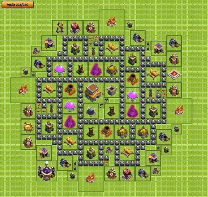 trapception base layout