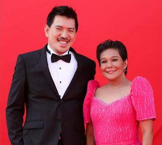 Nora Aunor and Brillante Mendoza at the Red Carpet of Venice International Film Festival (photo courtesy of Reuters)