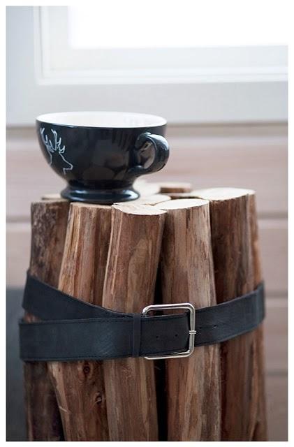 un toque natural en tu hogar troncos reciclados para decorar