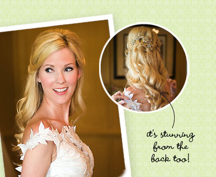 Half Up Half Down Wedding Hairstyles For Bridesmaidsjpg