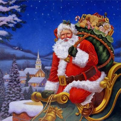 Grafiki z Mikołajem – do pobrania