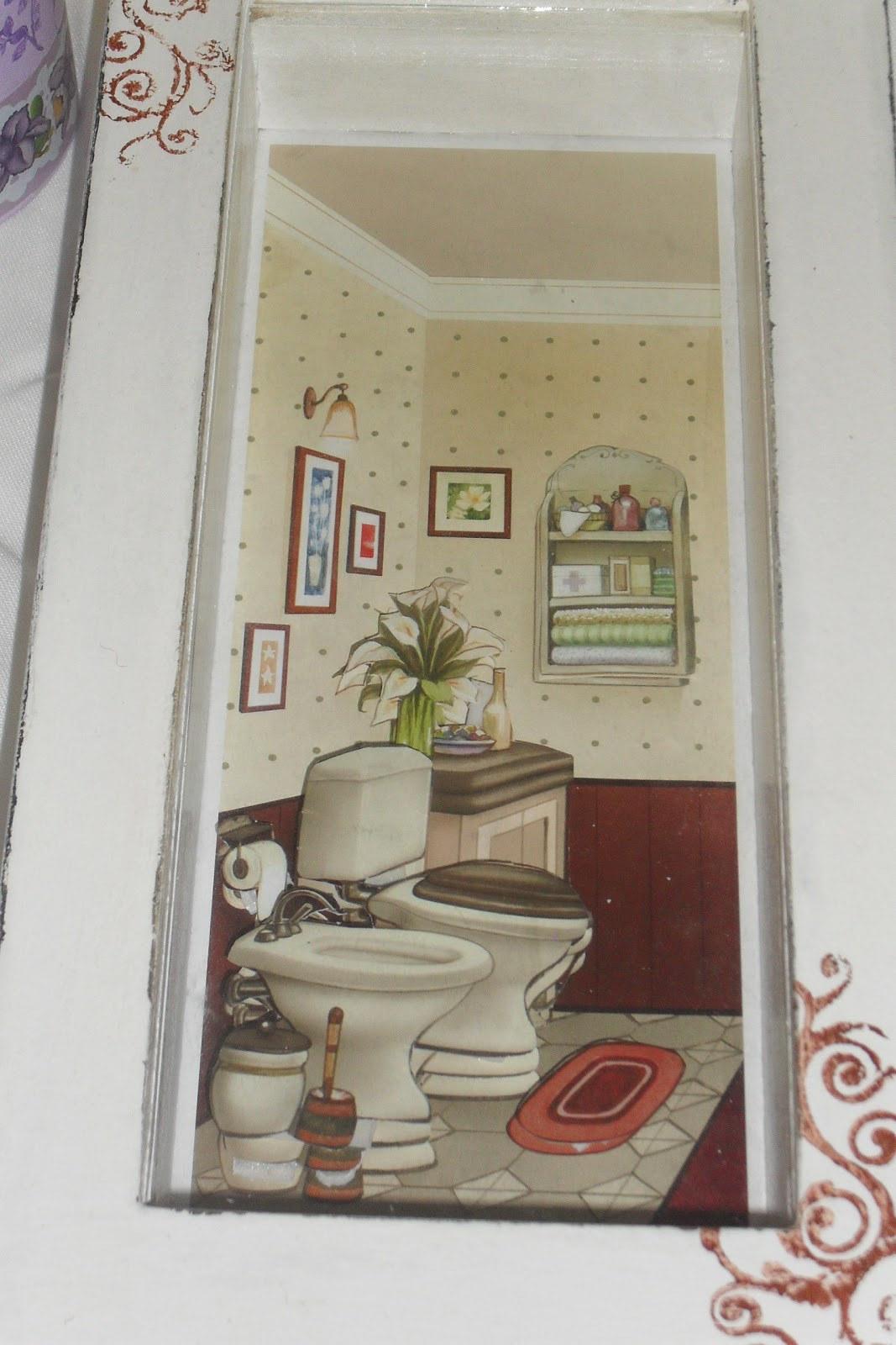 Ceci Artes: Quadro para banheiro #694036 1067 1600