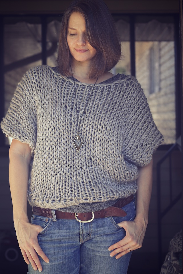 My So- Called Handmade Life: My First Welland Sweater