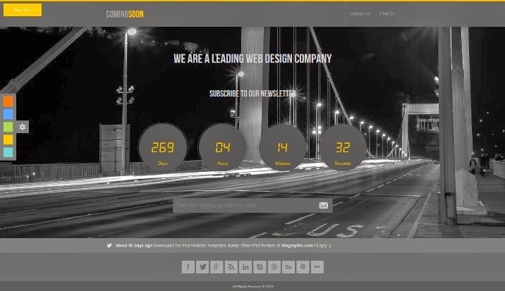 ComingSoon - HTML5 CSS3 Template