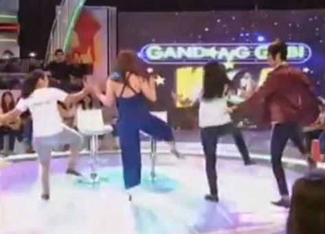 angel locsin dancing the fox dance on gandang gabi vice