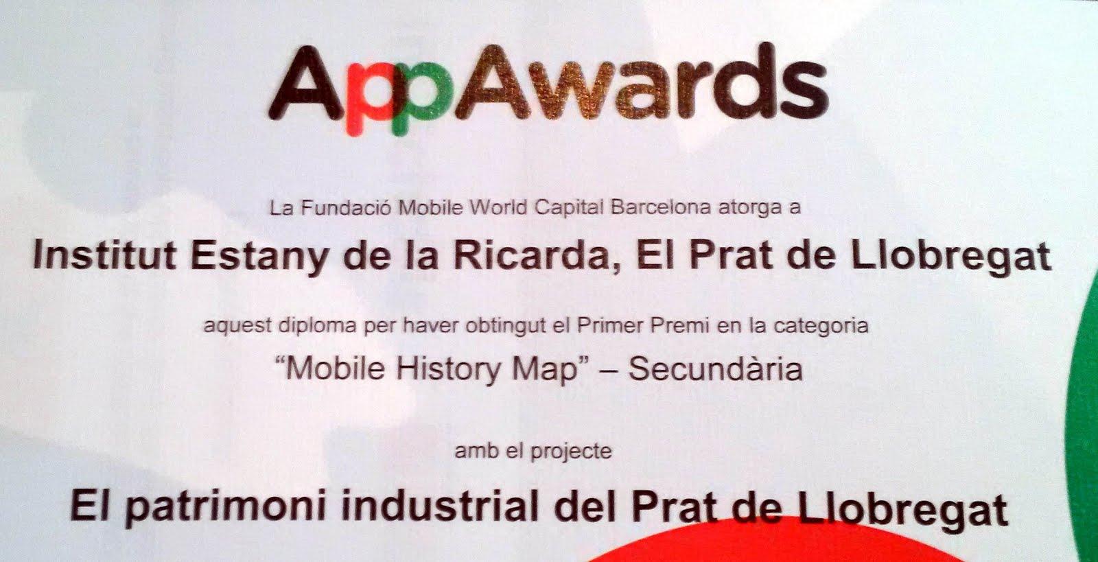Premi al Mobile History Map