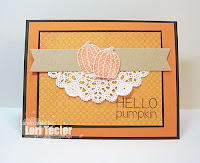 Hello Pumpkin card-designed by Lori Tecler/Inking Aloud-stamps and dies from Reverse Confetti