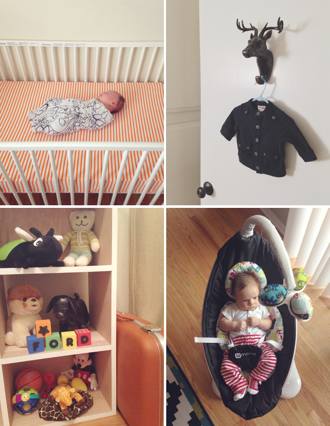 Sneak Peek at Baby Ford's Nursery by Interior Designer Lesley Myrick