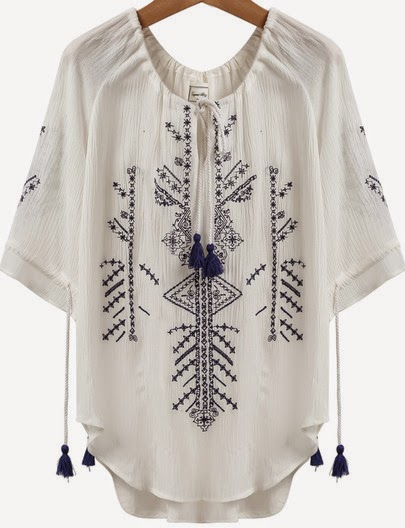 http://www.sheinside.com/White-Short-Sleeve-Embroidered-Tassel-Loose-Blouse-p-180023-cat-1733.html
