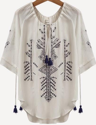 http://www.sheinside.com/White-Short-Sleeve-Embroidered-Tassel-Loose-Blouse-p-180023-cat-1733.html