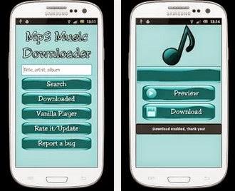 Musik downnload di android