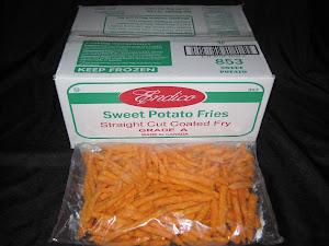 Endico Sweet Potato Fries 6/2.5 lb case - Item # 13718