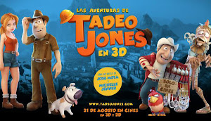 Afiche de Tadeo Jones