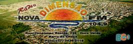 RADIO NOVA DIMENSÃO FM 104,9 Mhz