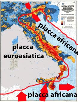 Incazzatodentro italia alto rischio sismico ma non for Rischio sismico in italia