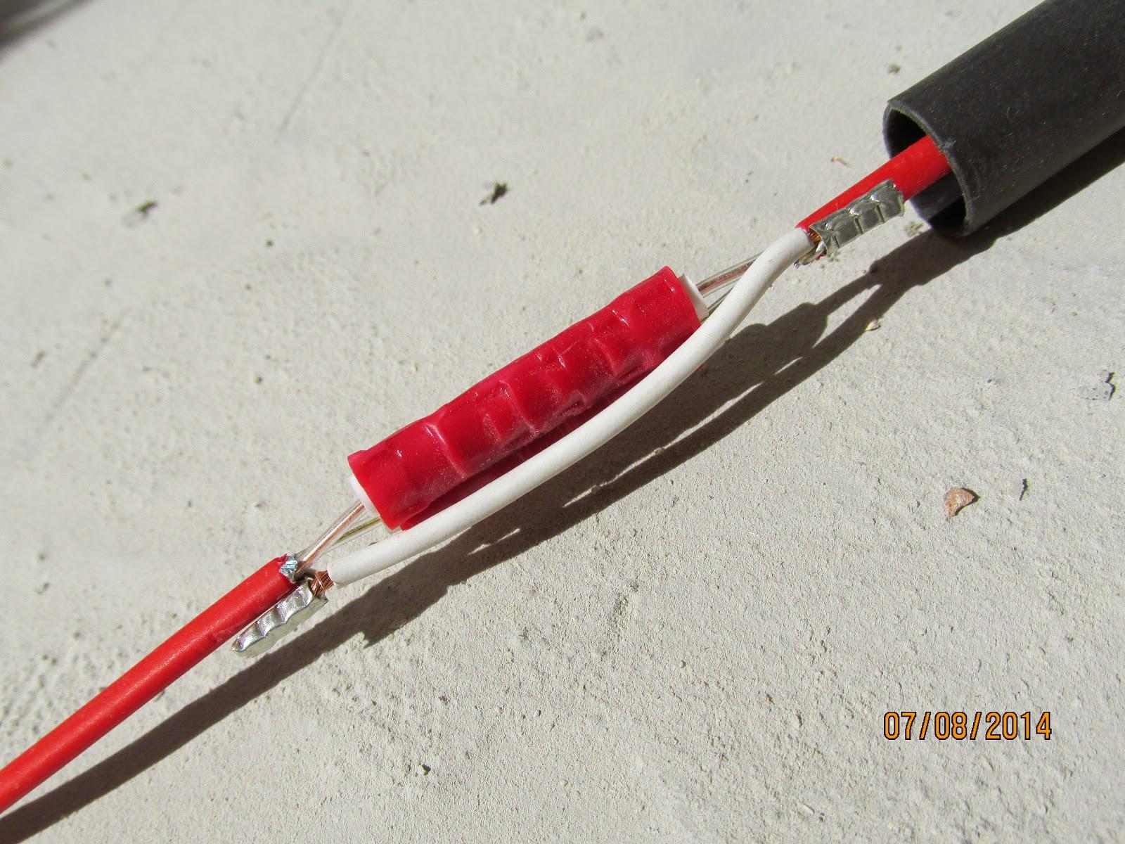 Ремонт концевой муфты кабеля теплого пола