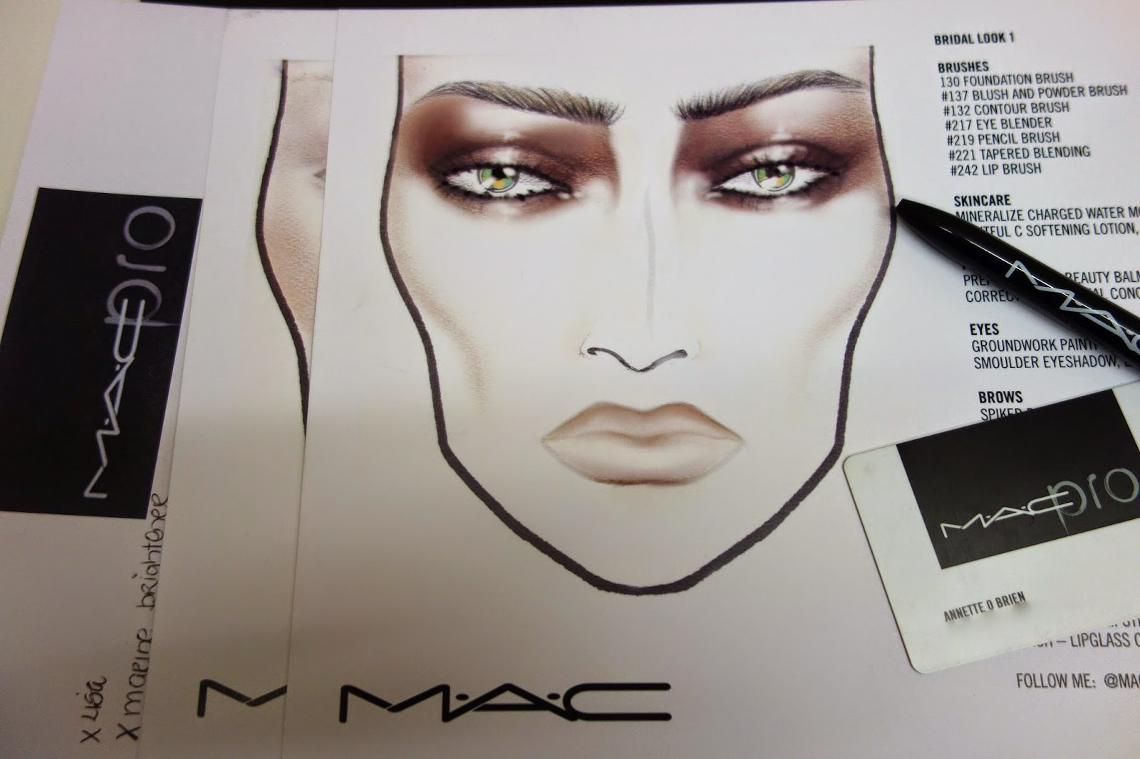 Wearable - Editorial - Bridal - by Mac Cosmetics