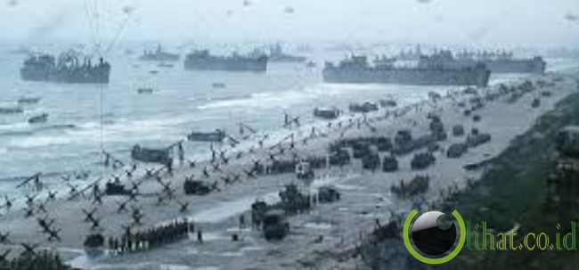 Pertempuran di Pantai Normandy