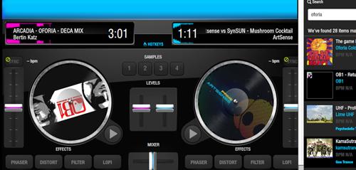 online dj mixer