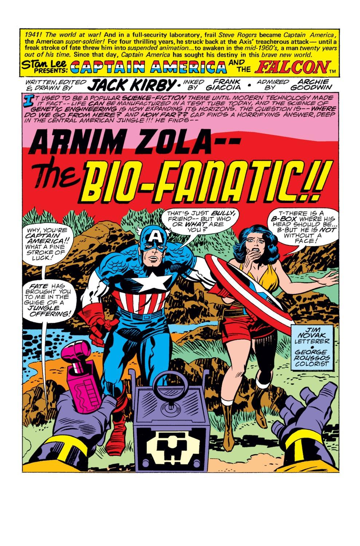 Captain America (1968) Issue #209 #123 - English 2