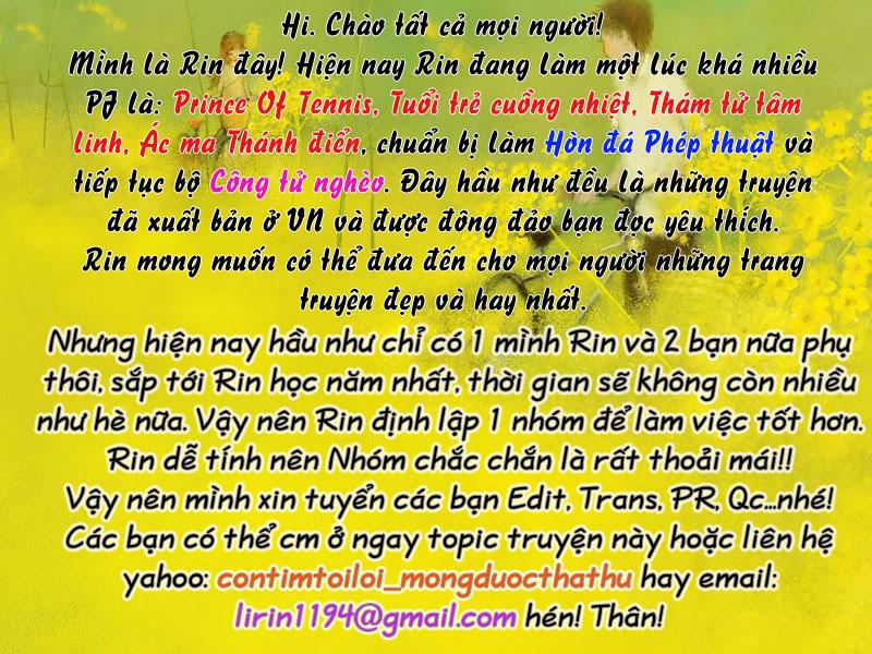 Prince of Tennis chap 100 Trang 1