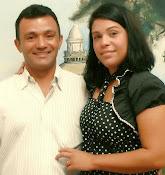 Leda Fontes e Kelven Salgado, fundadores do Projeto Pedra Viva.