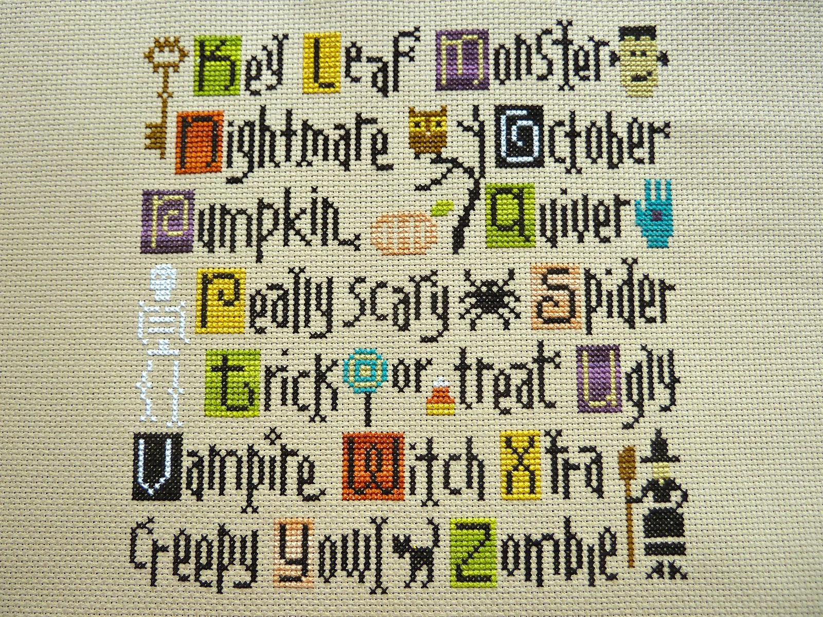 of this cross stitch just realized it was back in jan anyway i put this on my fal list for the 2nd quarter to hopefully get myself moving