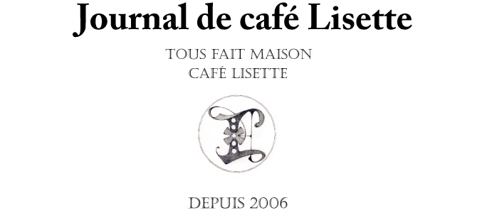 journal de café Lisette