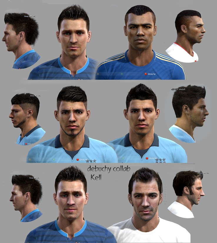 PES 2012 Facepack by vi3tanhltk