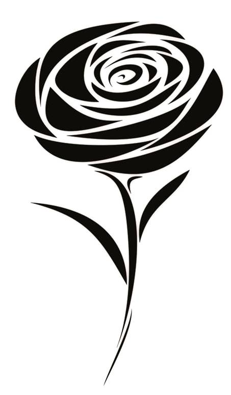 Trend tattoo styles tribal rose tattoo design for Tribal rose tattoo designs