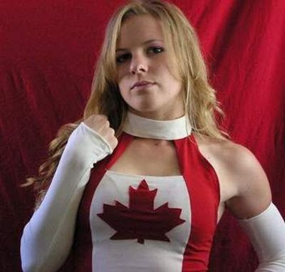 """The Canadian Goddess"" Candice LeRae"