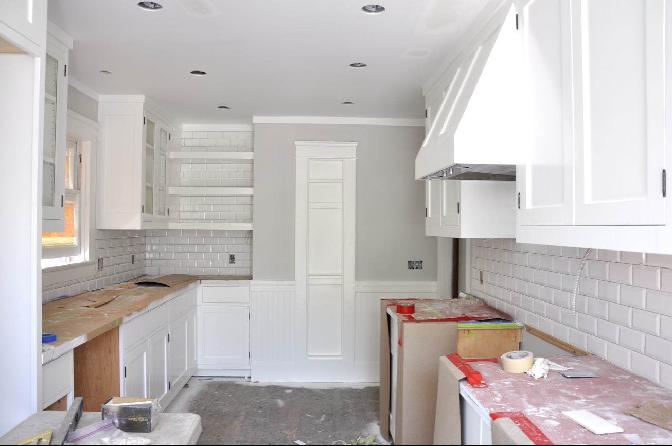 Renovation week 29 | kitchen update! | Sticky Bee