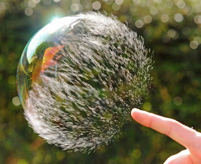 Simple Bursting Bubbles Photo