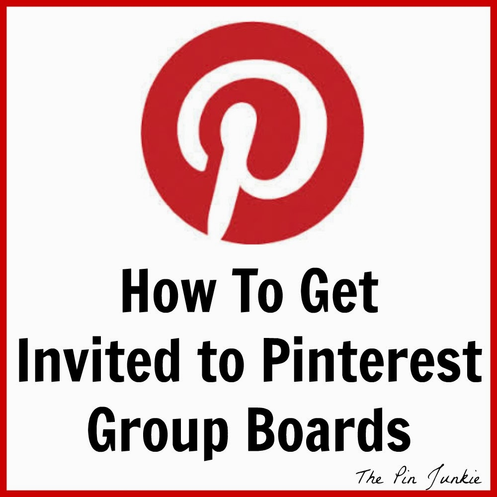how to get invited to Pinterest group boards