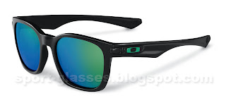 Oakley Garage Rock - 917504 - Polished Black with Jade Iridium lenses