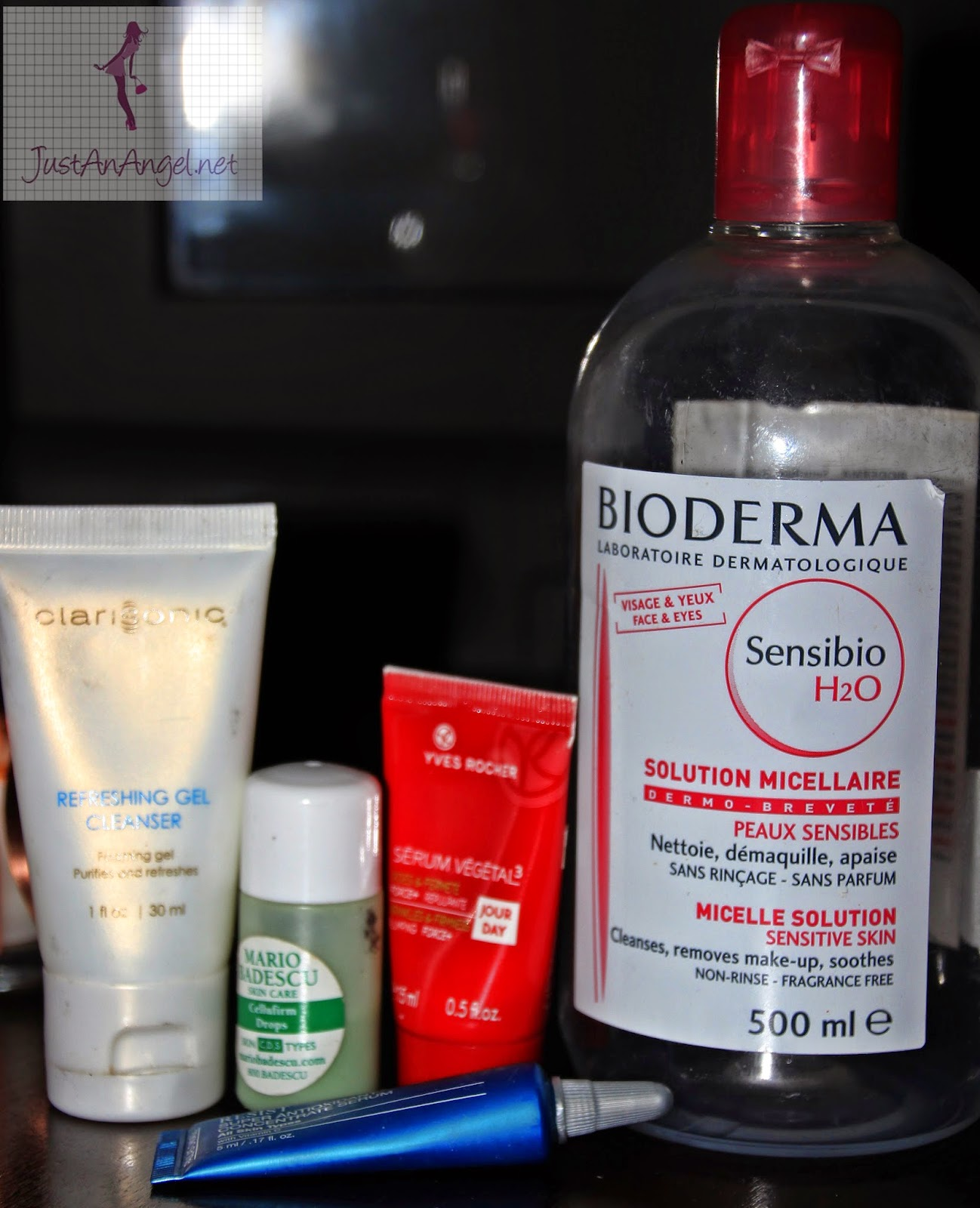 cleanser Clarisonic Mario Badescu drops apa micelara Bioderma Serum Paula's choice Resist