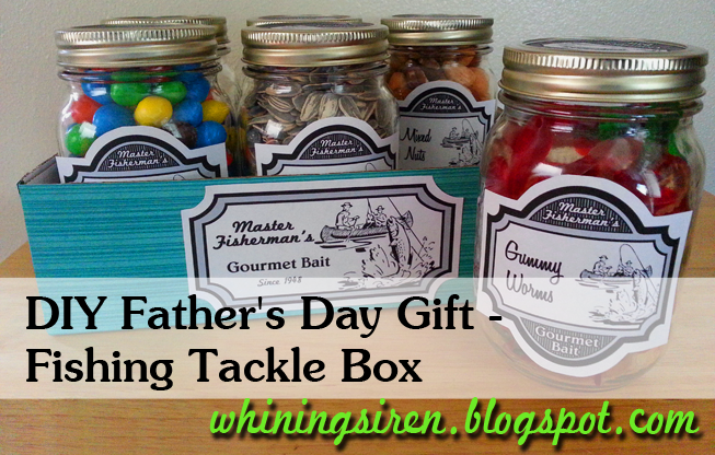 whining siren father s day gift fishing tackle box