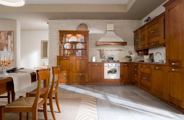 Domus arredi cucine in legno per un tocco classico - Cucine classiche veneta cucine ...
